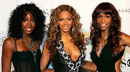 Kelly, Beyoncé and Michelle