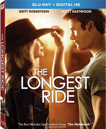 The Longest Ride Blu-ray Cover