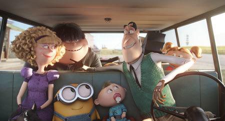 The Minions hitch a ride to Villain-Con