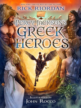 Greek Heroes Book Cover