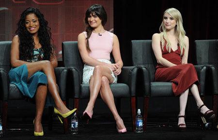 Keke Palmer, Lea Michele and Emma Roberts