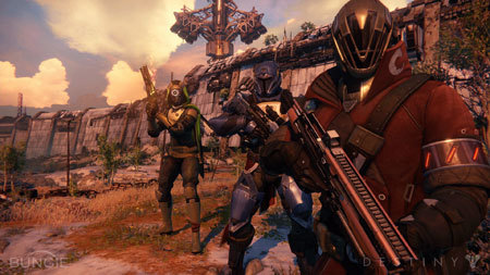 Get your first look at Destiny's multiplayer mode!
