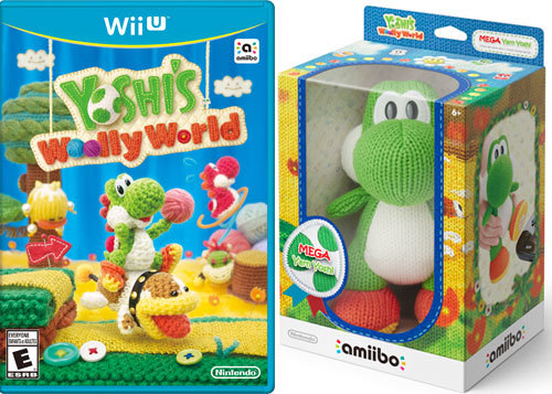 Yoshi's Woolly World and amiibo