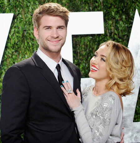 Liam and Miley were engaged