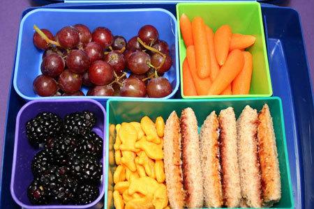 A healthy school lunch