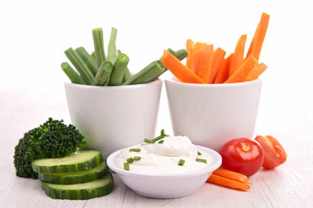 Pick your favorite veggie to dip