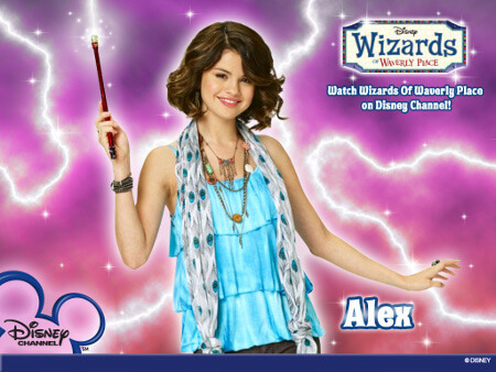 Selena as Alex in WOWP