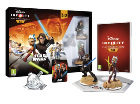 The Star Wars starter pack for Disney Infinity 3.0