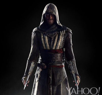 Here's our first look at Michael Fassbender in the Assassin's Creed movie!