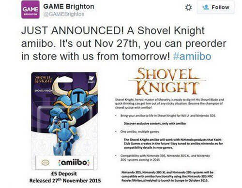 We know who the first third-party amiibo is!