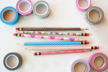 Washi Tape: pretty and pretty easy