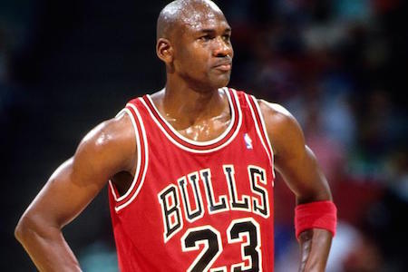 Michael Jordan can't be too humble about his athletic skills!
