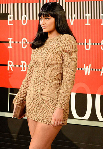 Kylie is cute in crochet