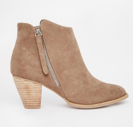 These booties are great with pants or a skirt!