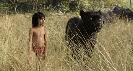 Mowgli and mentor Bagheera