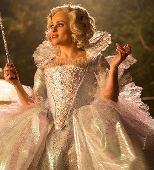 Fairy Godmother in her glittering gown