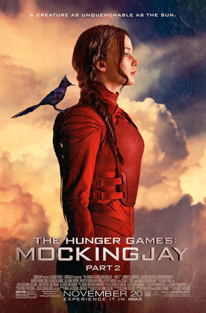 Katniss Poster for Mockingjay Part 2