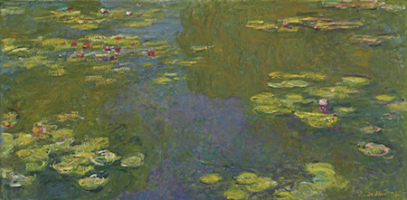 Water Lily Pond sold for over 70 million dollars at auction!