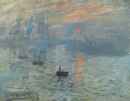 "Impression, Sunrise is the painting whose name inspired the ""impressionism"" title."