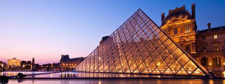 The Louvre boasts nearly 35,000 objects from throughout history!