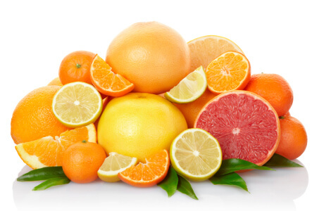 Citrus fruits are a quick and delicious source of vitamin C