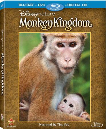 Disneynature Monkey Kingdom Blu-ray