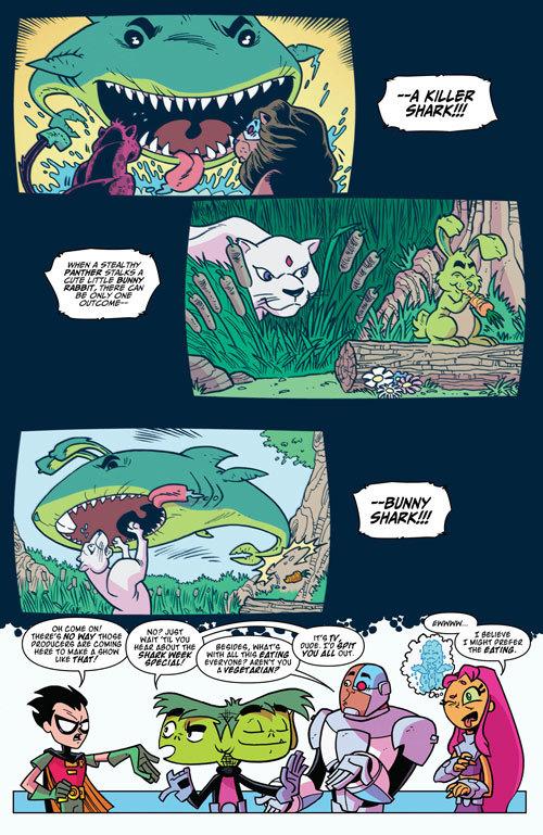 Teen Titans Go! #18   Exclusive Preview 4