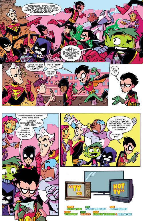 Teen Titans Go! #18 | Exclusive Preview 1