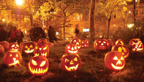 Carving Jack-o-Lanterns wasn't a Halloween tradition til the 1900s