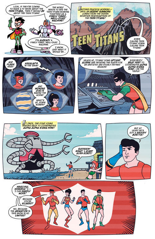 Teen Titans Go! #18   Exclusive Preview 5