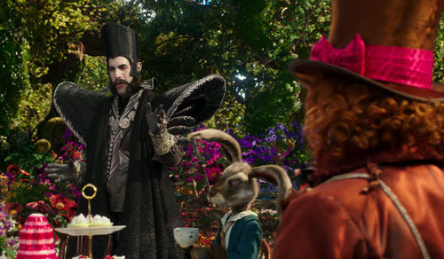 Time confronts the Hatter