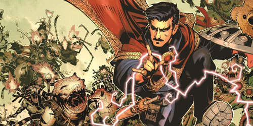 The Doctor Strange comic book character