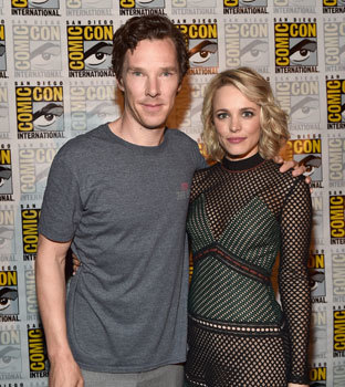 Benedict and Rachel at San Diego Comic Con