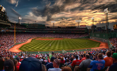 Fenway Park is home of the Boston Red Sox