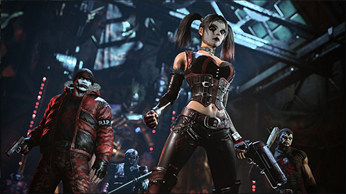 Harley Quinn makes up a part of the huge roster of villains.