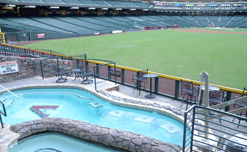 The Pool Pavilion has given Chase Field a very distinct recognition