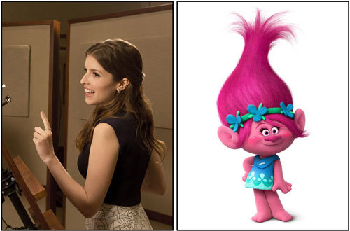Anna Kendrick sings as Poppy