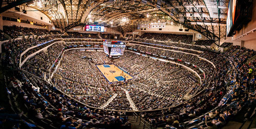 American Airlines Center is home of the Dallas Mavericks