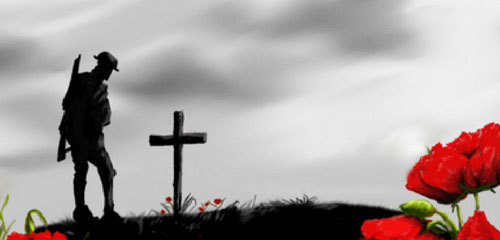 Remembering the soliders that were lost