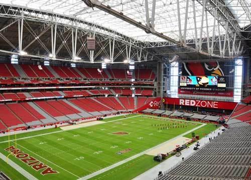 Sports Venues - University of Phoenix Stadium