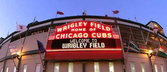 Feature wrigley field venue feat