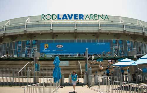 Rod Laver Arena entrance