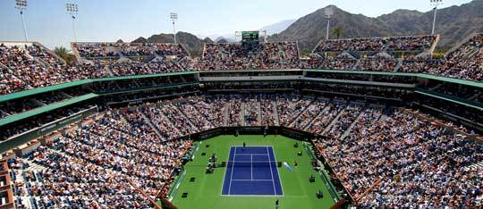 Feature indian wells tennis garden venue feat