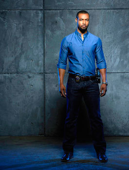 Luke (played by Isaiah Mustafa)
