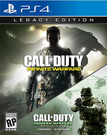Call of Duty: Infinite Warfare Legacy Edition PS4 Box Art