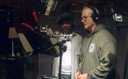 Bill Murray singing as Baloo with jazz great Dr. John