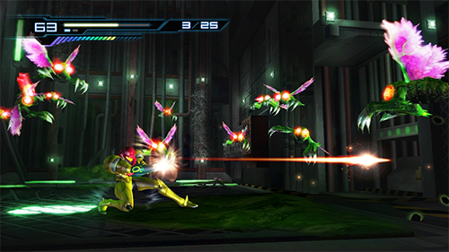The most recent game in the Metroid series, Other M, recieved a mixed reception.