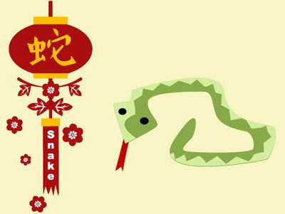 Chinese Zodiac Year of The Snake