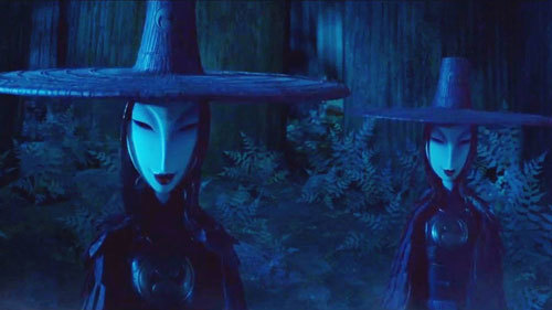 Kubo's weird evil sisters