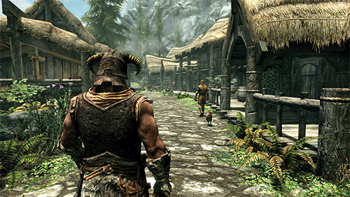 Returning to the tiny towns of Skyrim brings back some fond memories.